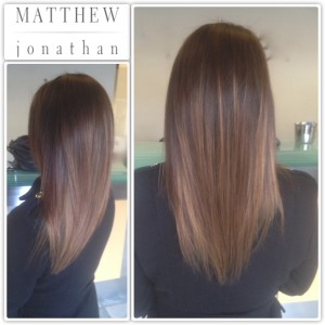 Balayage Sombre Ombre Matthew Jonathan Stylist Hair salon Oakville   Burlington  Mississauga Milton Hamilton r Etobicoke Halton hills gta salon Toronto GTA
