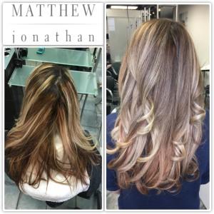 Balayage Sombre Ombre Matthew Jonathan Stylist Hair salon Oakville   Burlington  Mississauga Milton Hamilton r Etobicoke Halton hills gta salon Toronto GTA 89