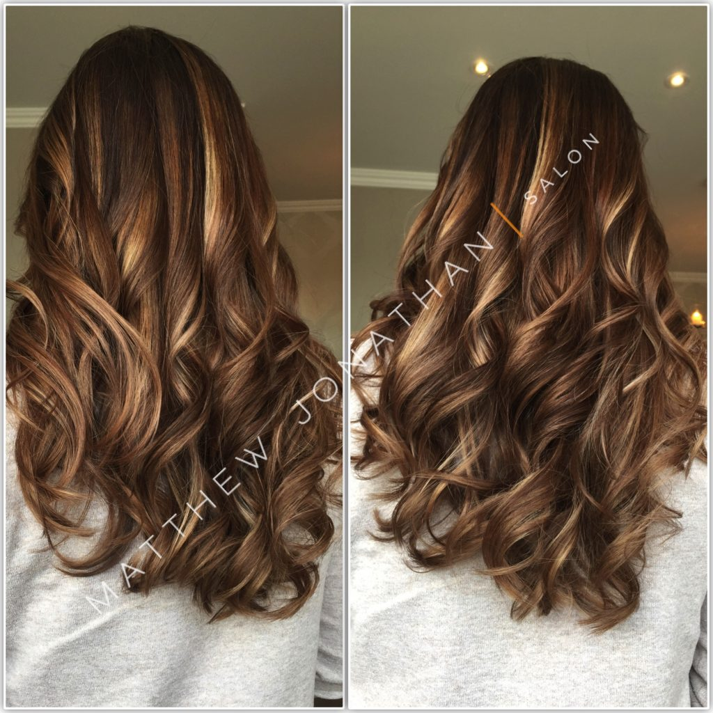 Balayage-love-brunette-blonde-hair-care-love-amazing