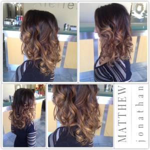 Matthew Jonathan hairstylist/oakville hair salon /balayage sombe the new ombre