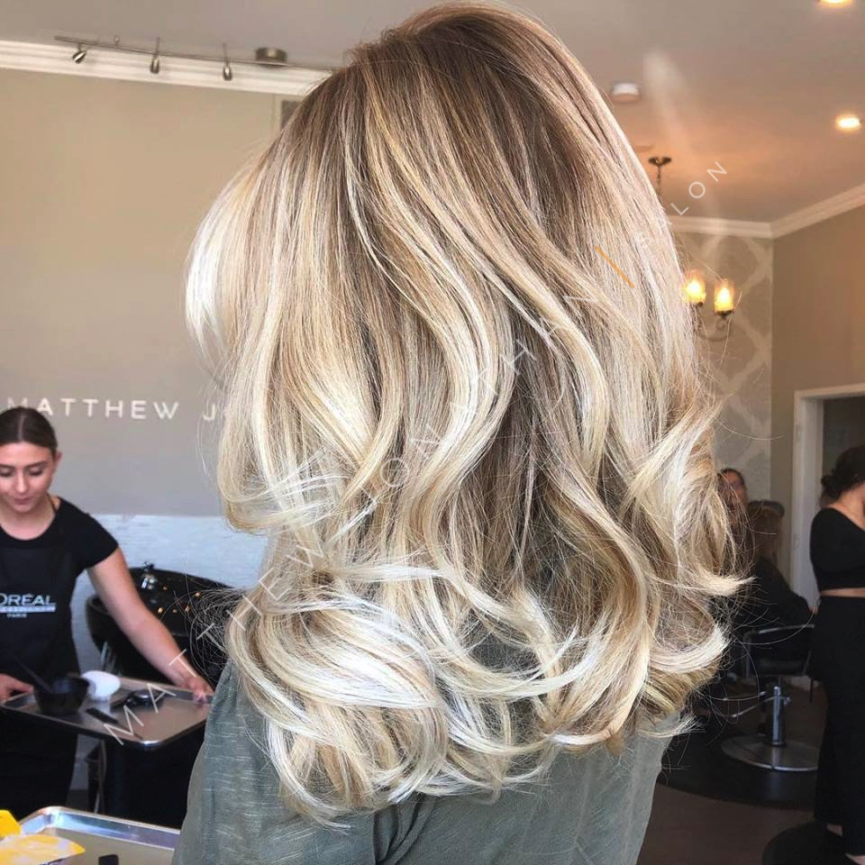 Beige Blonde Balayage by Senior Stylist Lexi - Oakville ...