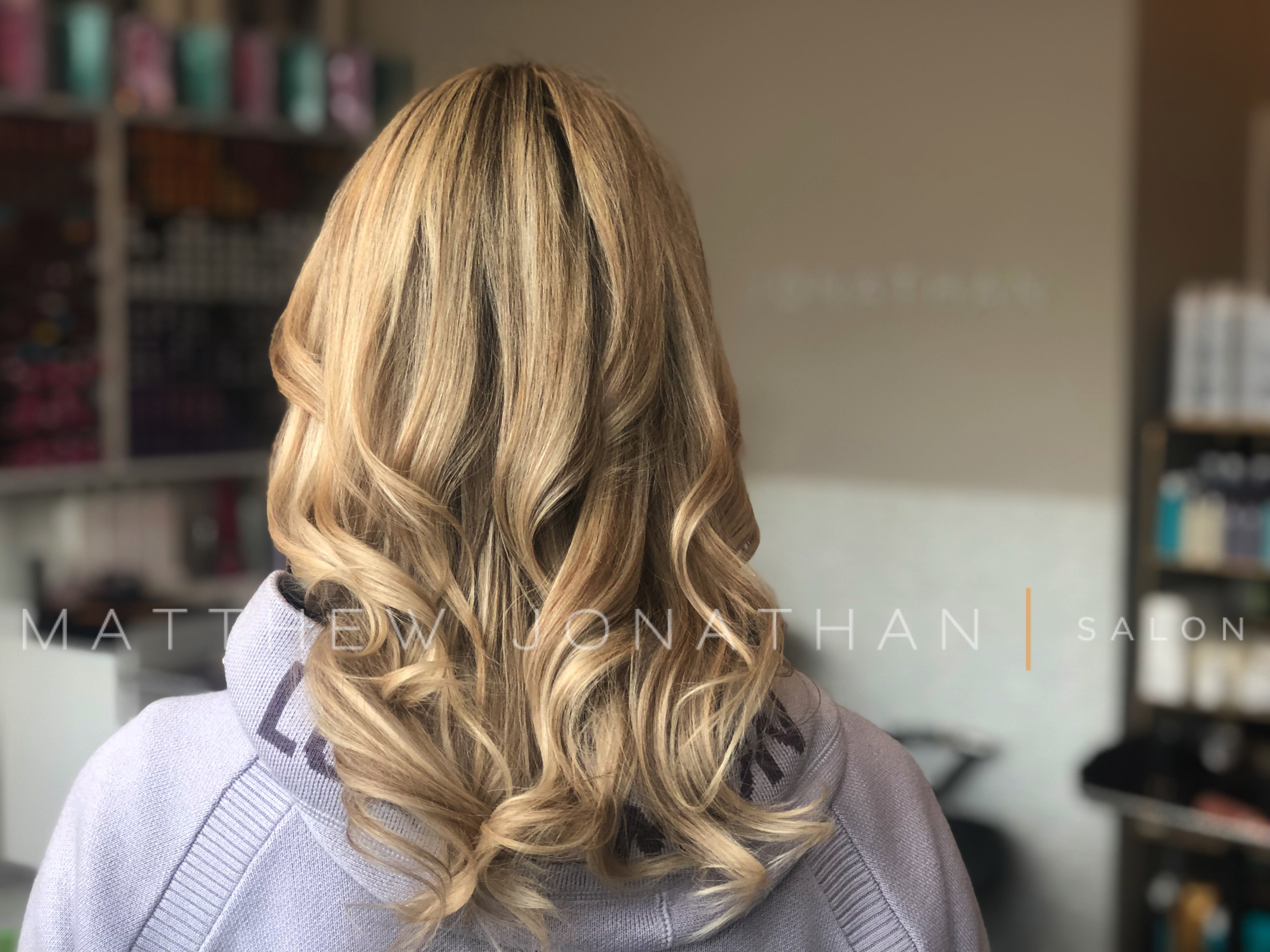blonde highlights oakville