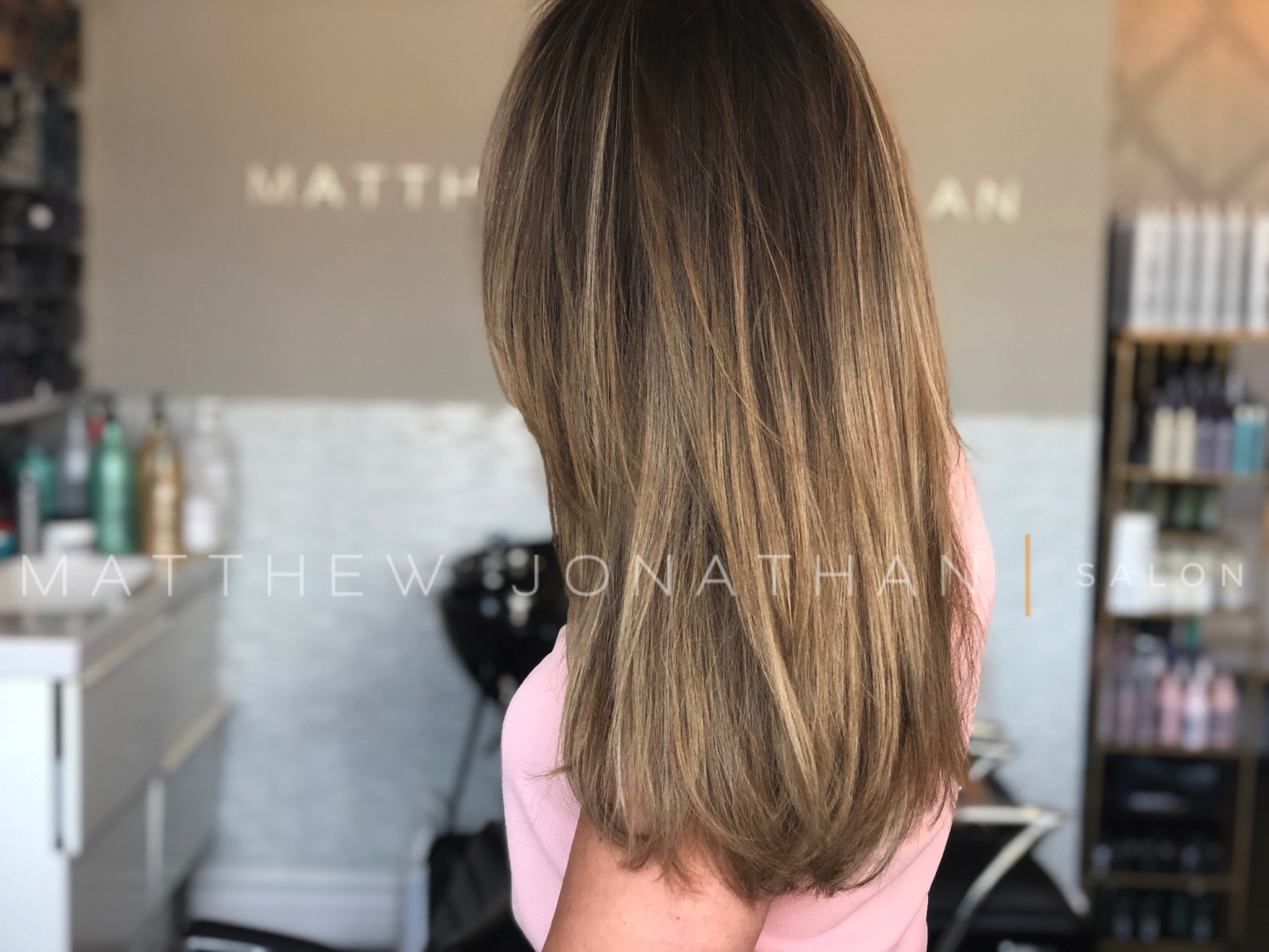 balayage oakville highlights
