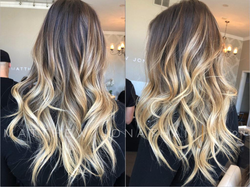 #blondehighlights #blondesdoitbetter #brunetteshavemorefun #torontohairstylists #lorealprofessionnel #olaplex #olaplexhair #cutehairstyles #balayageombrehair #ombrehairstyle #balayageoakville #olaplexlove #instahairstyle #blondebalayagehighlights #sombrehair #hairpainting #paintedhair #haircolors #colourmelt #colormelting #rootshadow #matthewjonathan #modernsalonandspa #lovemyhair